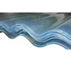 Plaque PVC grande onde