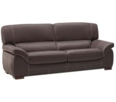 Canapé 3 places en cuir madras