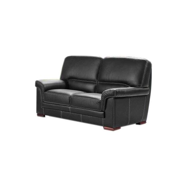 moulin des affaires canap 2 places en cuir vachette buffle. Black Bedroom Furniture Sets. Home Design Ideas