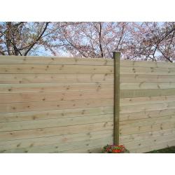 Lame pour clôture à emboiter Cl4