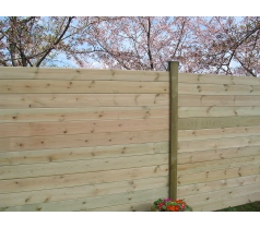 Lame de finition droite pour clôture à emboiter Cl4