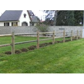 Poteau de clôture ranch