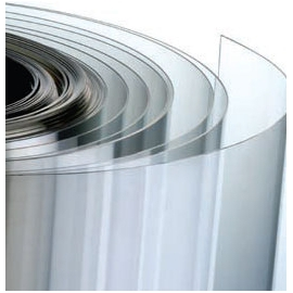 PVC plat transparent
