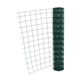 Grillage plastifié vert 100x100 Hauteur 1m - Longueur 20m