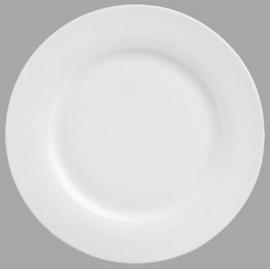Assiette plate blanche 24cm