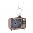 Horloge à poser TV retro