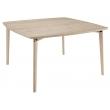 Table carrée plateau bois