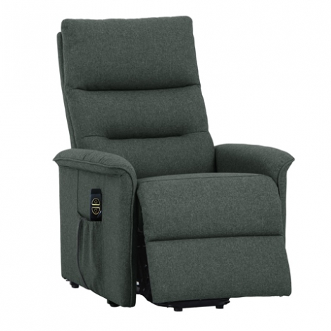 Fauteuil relax et releveur chic anthracite
