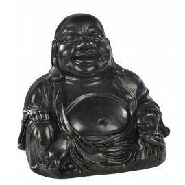 Bouddha chinois ciré noir