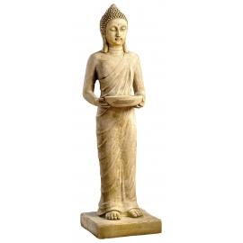 Bouddha debout ton patiné