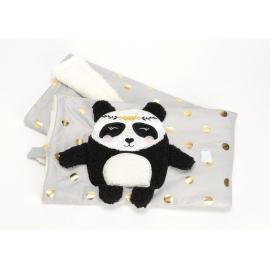 Plaid panda