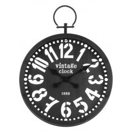 Horloge gousset noire