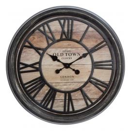 Horloge relief