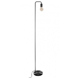 Lampadaire minimaliste noir