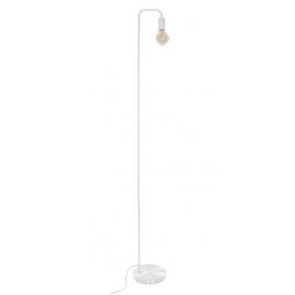 Lampadaire minimaliste blanc