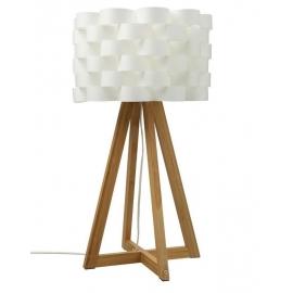 Lampe bambou papier
