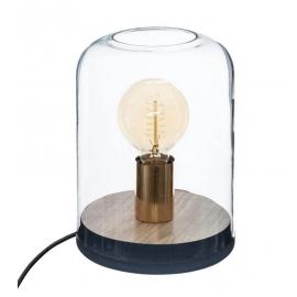 Lampe dome bois