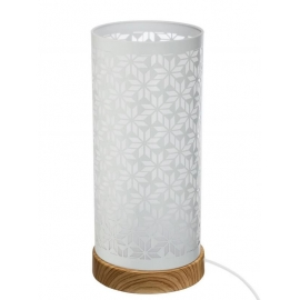 Lampe tactile blanche