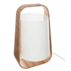 Lampe bambou blanc