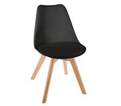 Chaise scandinave noire