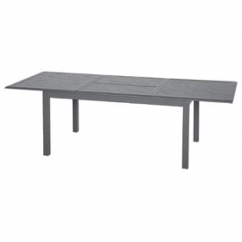 TABLE AZUA EXT ALU GRAPHITE 10P