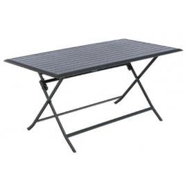 TABLE AZUA PLI ALU GRAPHITE 6P
