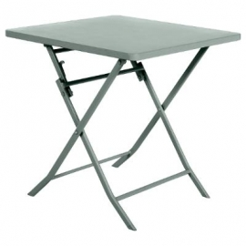 TABLE GREENSBORO CARREE OLIVE 2P