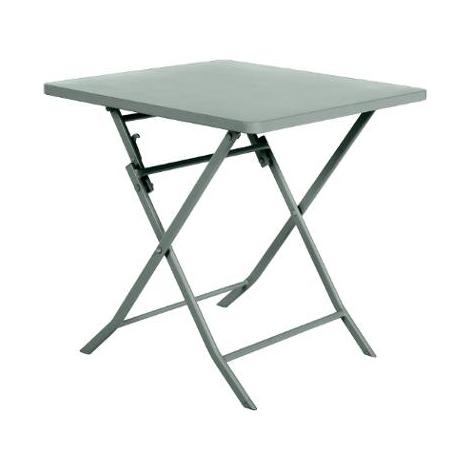 TABLE GREENSBORO CARREE OLIVE 2P