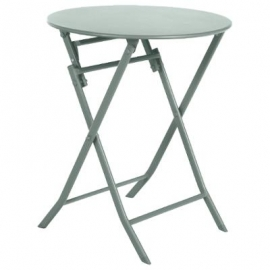TABLE GREENSBORO RONDE OLIVE 2P