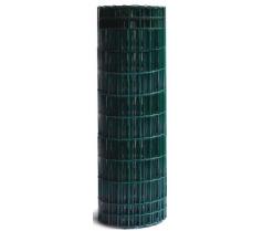 Grillage plastifié vert 100x50 Hauteur 1m20 - Longueur 20m