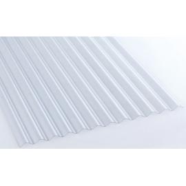 Plaque PVC petites ondes en 2m