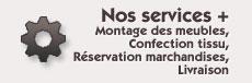 Nos services +